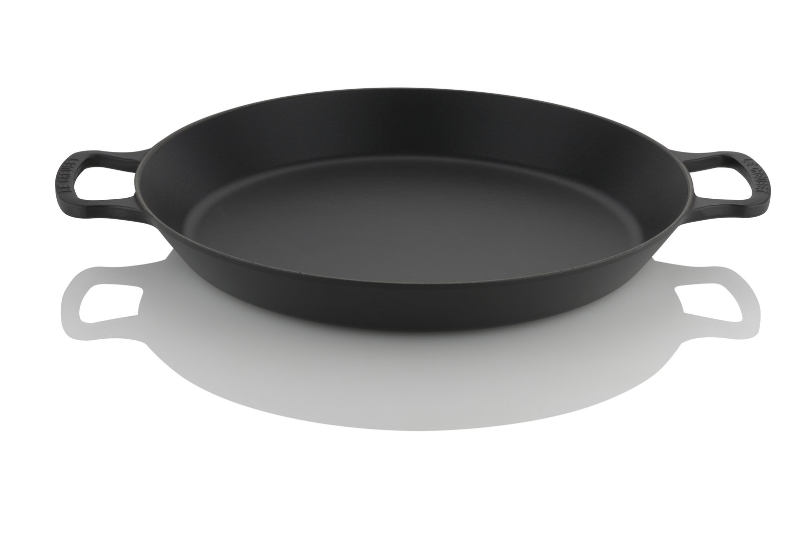 le creuset paella pfanne 34 cm kochgut. Black Bedroom Furniture Sets. Home Design Ideas