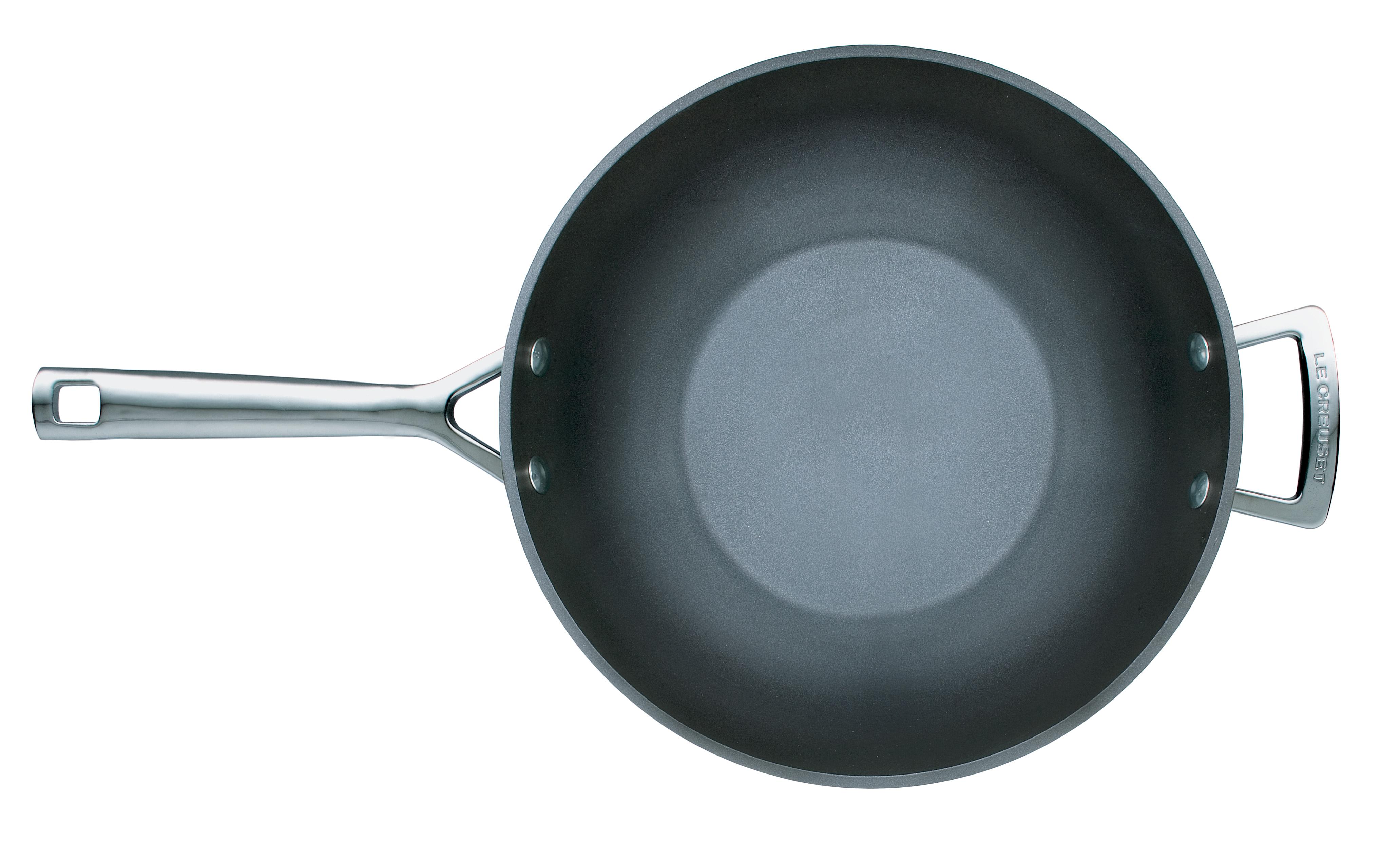 aluminium antihaft wok pfanne kochgut. Black Bedroom Furniture Sets. Home Design Ideas