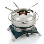 Novis Switzerland Fondue Set mit Rechaud