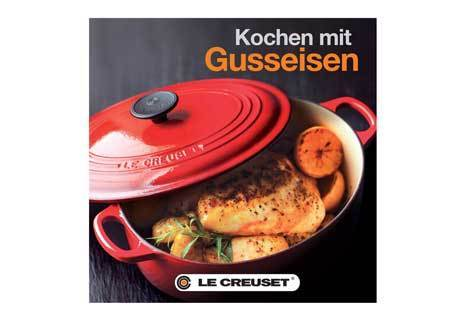 le creuset kochen mit gusseisen kochgut. Black Bedroom Furniture Sets. Home Design Ideas